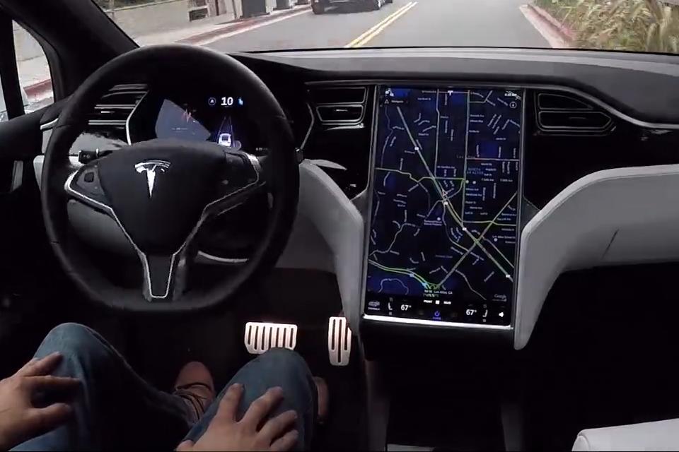 Tesla Autopilot Crashed